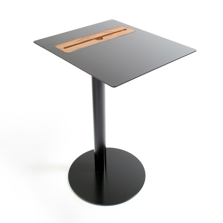 Nomad Tablet Side Table Square- Black