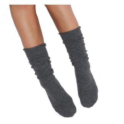 Socken Eine Größe | Dunkelgrau