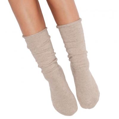 Socken Eine Größe | Beige