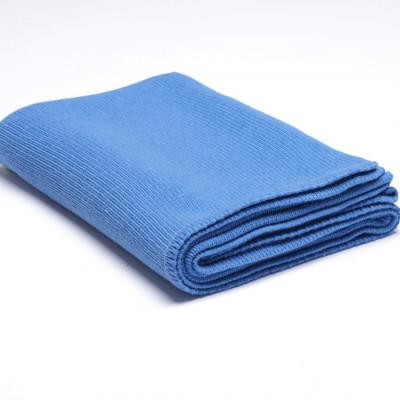 Überwurf Wollstrick | Königsblau
