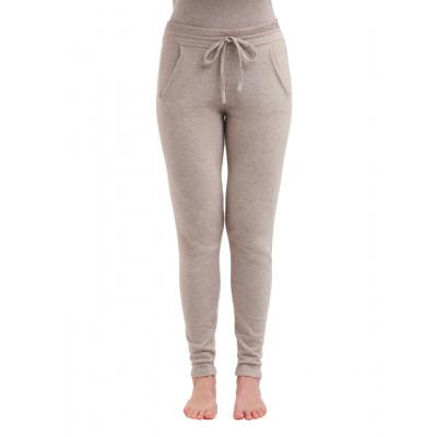 Gestrickte Hosen für Frauen | Beige