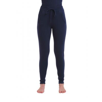 Gestrickte Hosen für Frauen | Marineblau