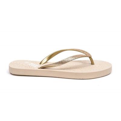 Flip Flops | Gold