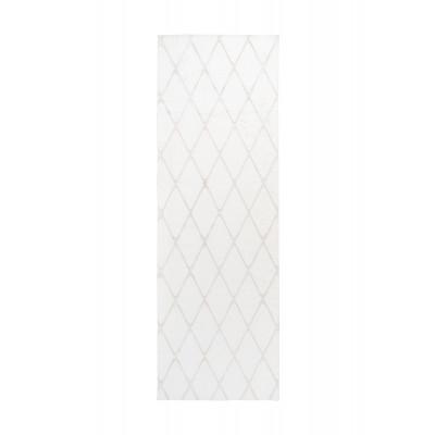 Teppich Nora 433 - 80 x 250 | Weiß - Creme