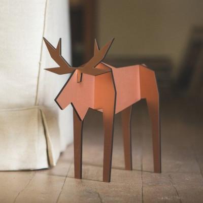 Moose   Animal Figure Copper