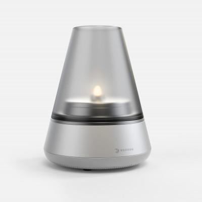 Öllampe/Bluetooth-Lautsprecher Nordic Light Pro | Aluminium