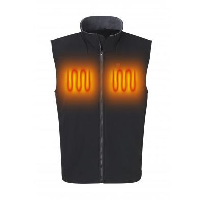 Softshell Vest Black Unisex