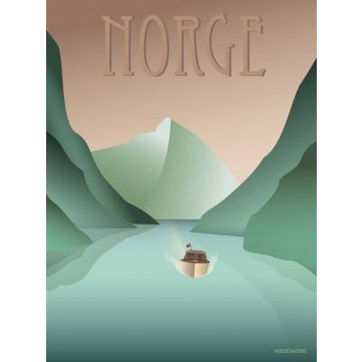 Norwegen Poster   Fjorde