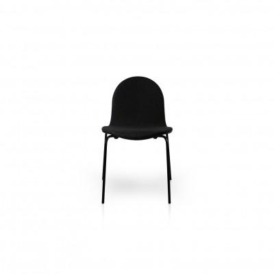 Stuhl Norma Wool | Schwarz