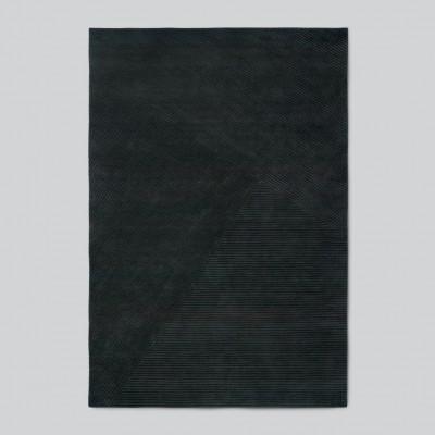 Teppich Row Large | Dunkelgrün