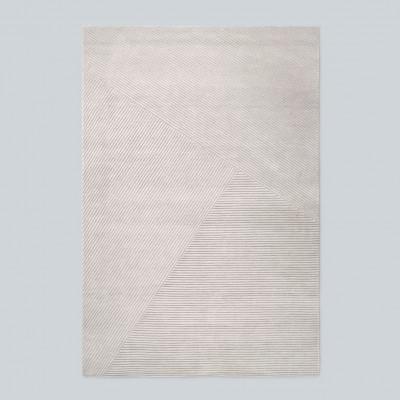 Teppich Row Large | Hellgrau