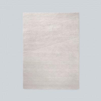 Teppich Row Medium | Hellgrau