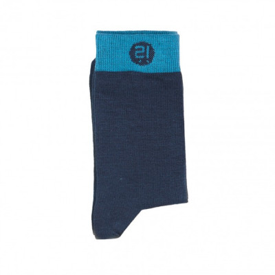 Unisex-Socken   Blau-Marine