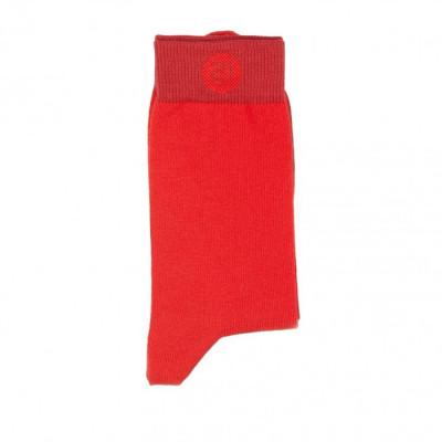 Unisex-Socken   Rot