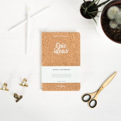 Cork Notebook A5 | Epic Ideas
