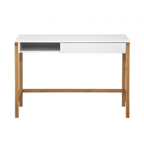 Schreibtisch Northgate MEL | Weiß/Eiche