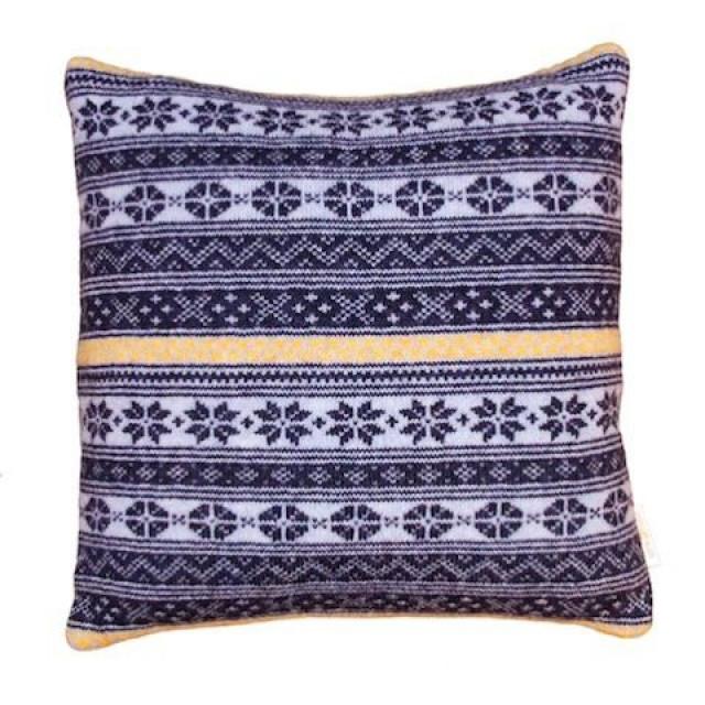 Cushion Nordic Inspiration Blue/Yellow