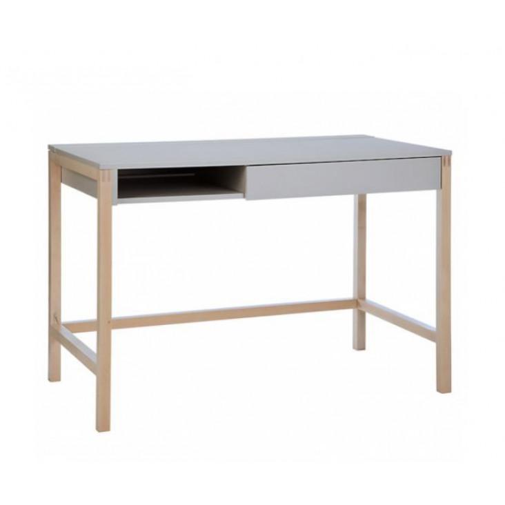Schreibtisch Northgate MEL | Grau / Birke