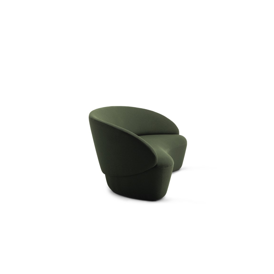 2-Sitzer Sofa Naïve | Grün