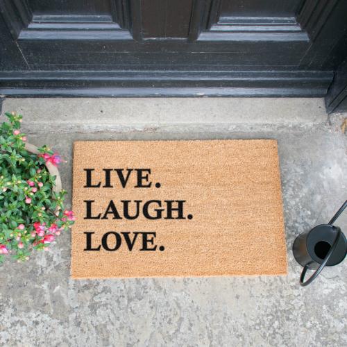 Fußmatte Live Laugh Love