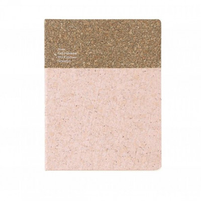 Cork Notebook Large | Nude