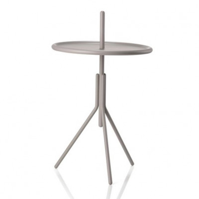 Metalltisch INU 34 cm | Taupe