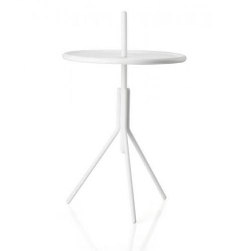 Metal Table INU 34 cm | Soft Grey