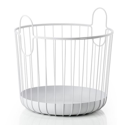 Korb INU 41 cm | Weiches Grau