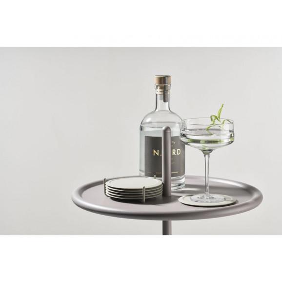 Metalen Tafel INU 34 cm | Wit