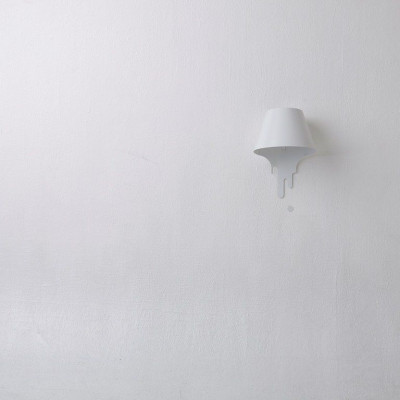 Liquid Bracket Lampenschirm Weiß