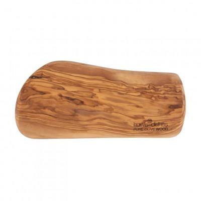 Tapas-Platte Olivenholz 25 cm | Braun