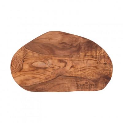 Tapas-Platte Olivenholz XB 25-30 cm | Braun