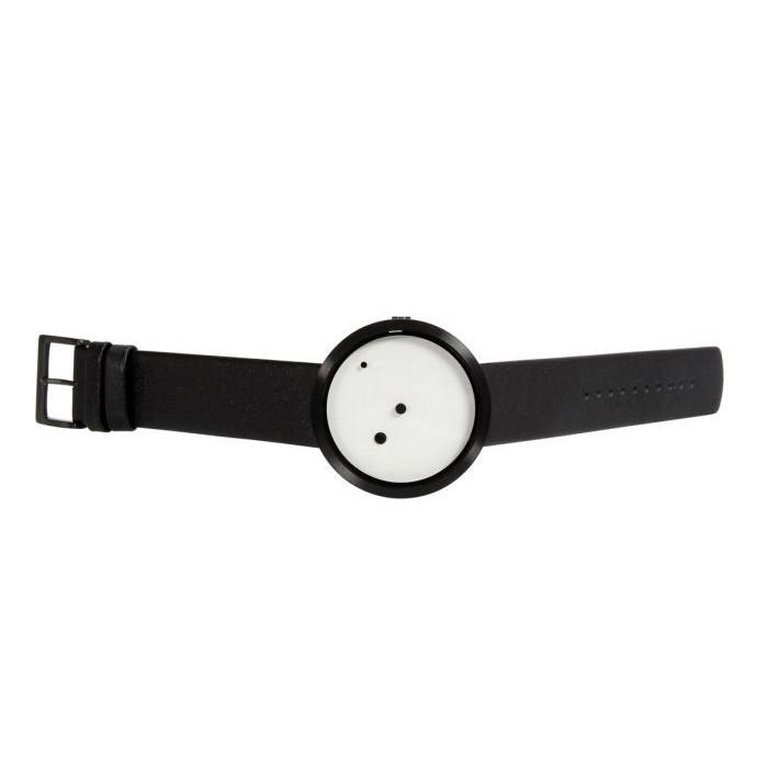 Wristwatch Ora Lattea | Black - White