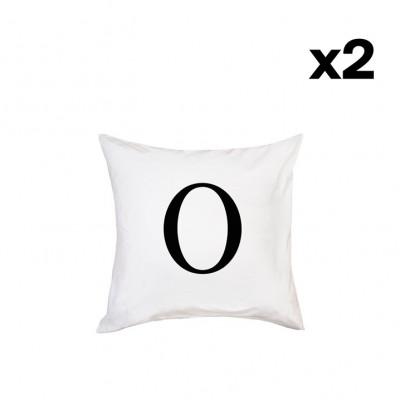 2er-Set Kissenbezügen | O