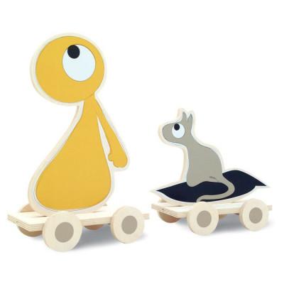 DIY Nachziehspielzeug | Olli & Jeujeu
