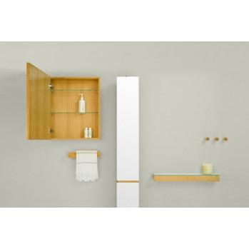 Toilettenrollenhalter Wand Slimline   Helles Holz