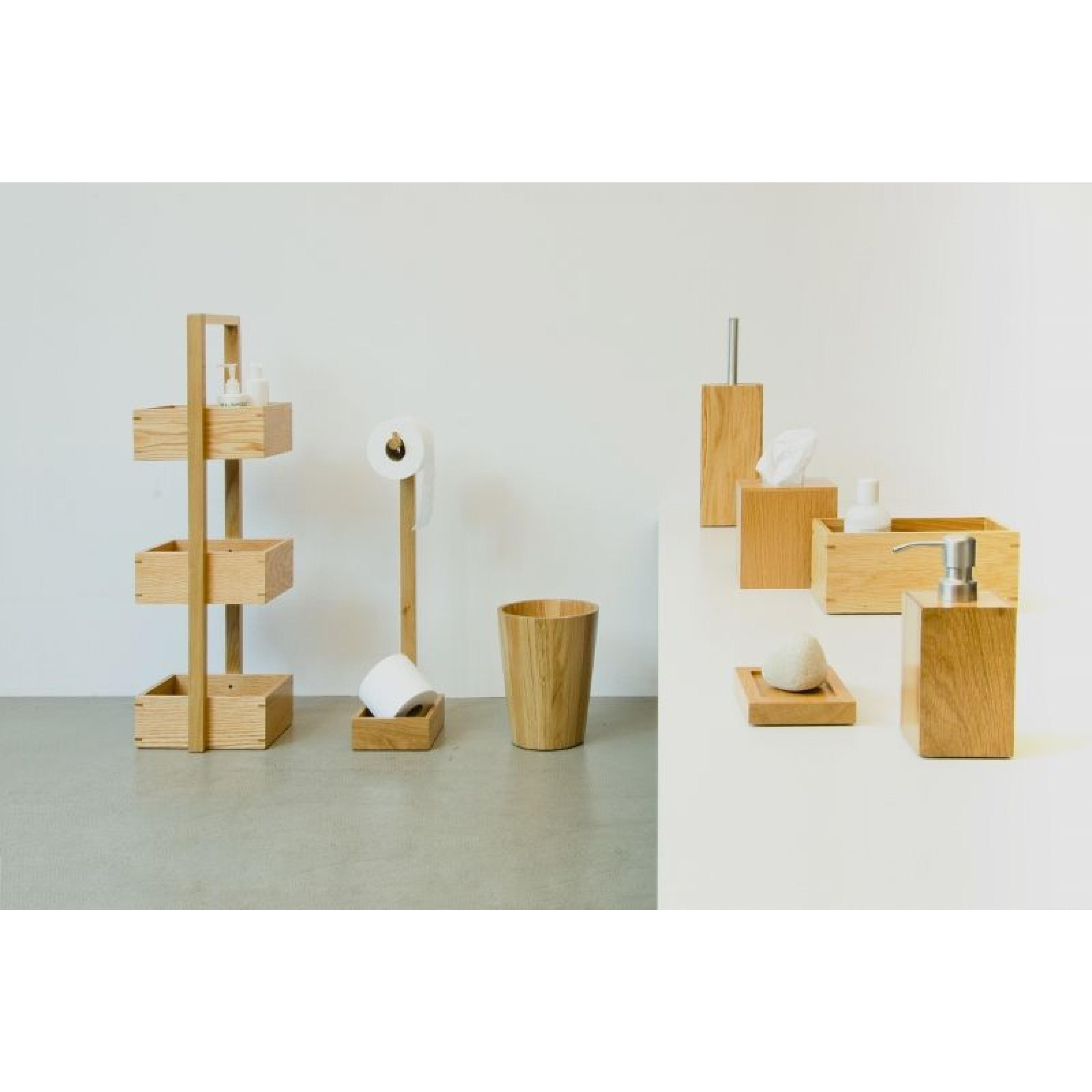 Caddy Mezza | Light Wood