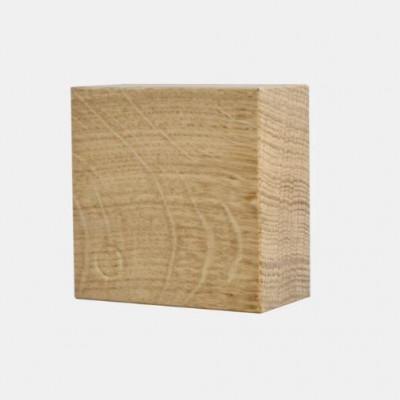 Magnetischer Holzwürfel TRAKTOR | Eiche