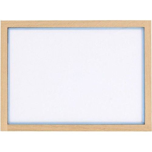 RAM'N Frame   Oak Light Blue Acryl