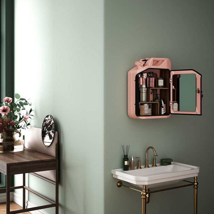 Bathroom Cabinet | Rose - Oak