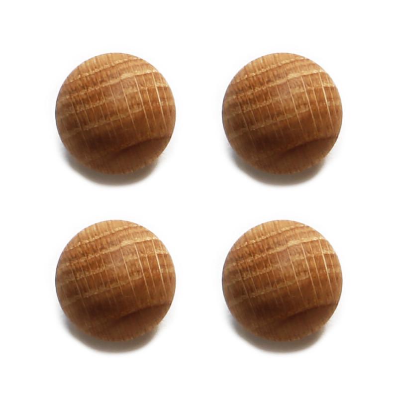 Oak Balls | Set of 4