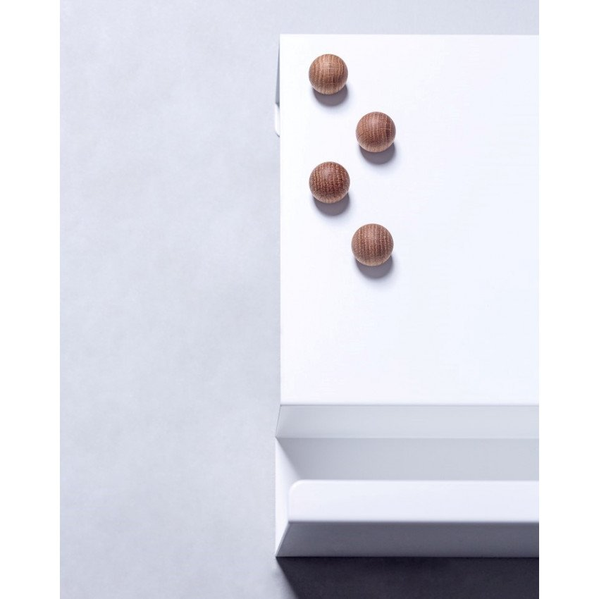 Magnete 4er-Set | Eiche