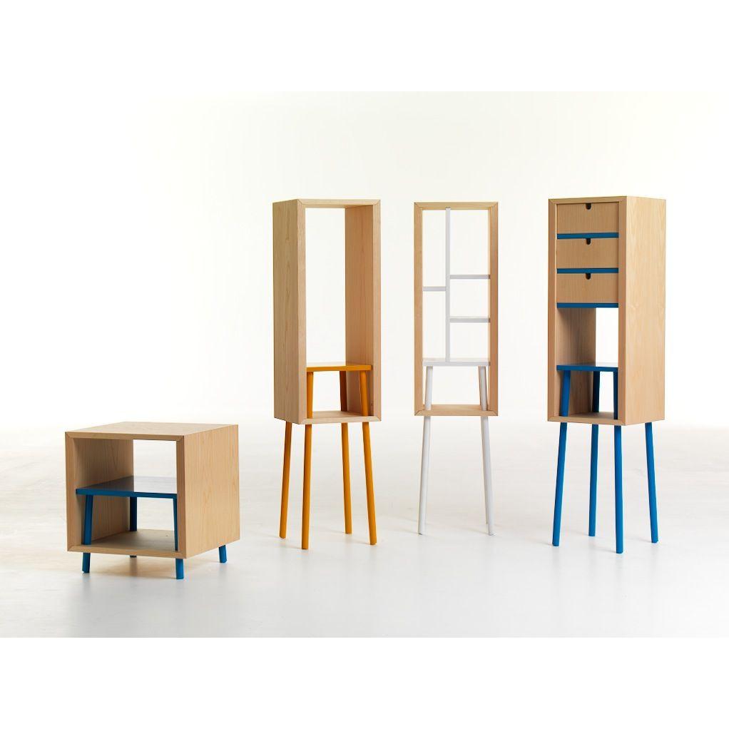 Obi Storage Unit With Single Shelf