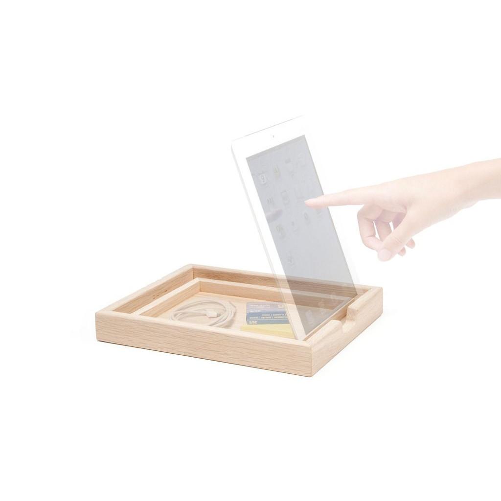Dock-Tablett Schwarz