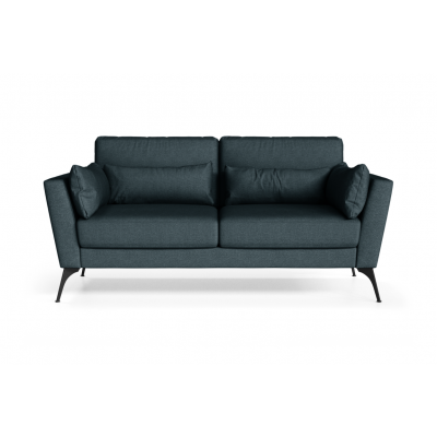 2 Sitzer Sofa Susan | Erdölblau