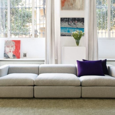 Offenes Sofa | Einfache Version