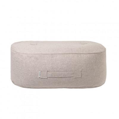 Puff Oblong | Wolle | Beige