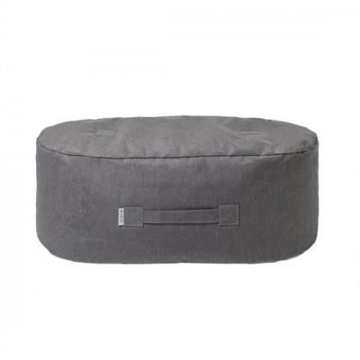 Länglicher Hocker Sunbrella | Grau