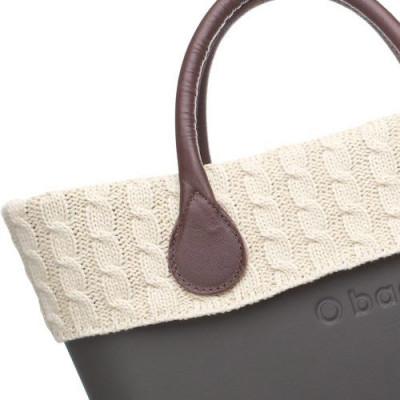 O Bag Accessory   Twisted Wool Trim