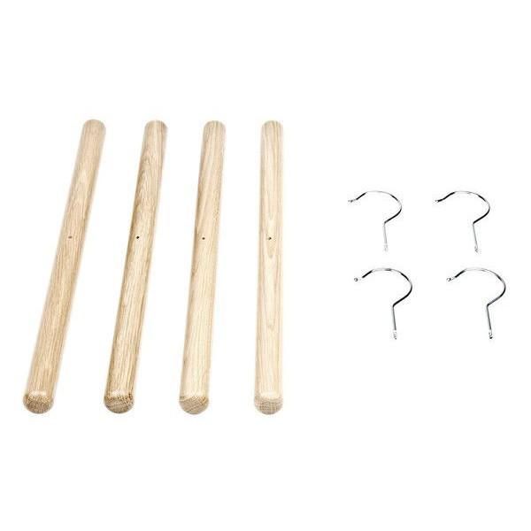 Baton Hanger Set Schwarz